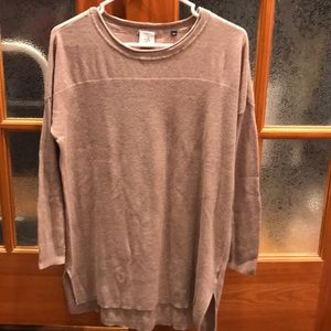 Cabi tunic length lightweight sweater sz S